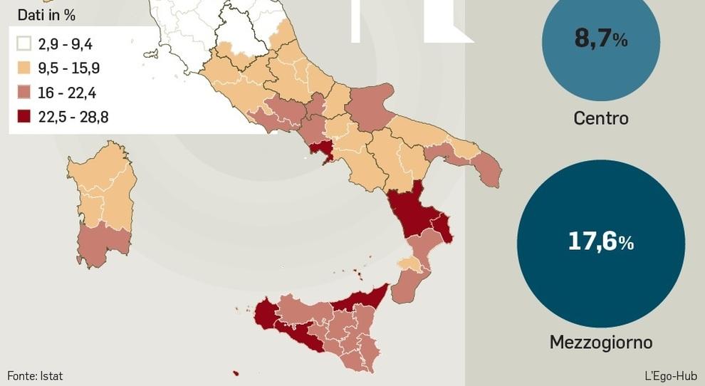 Meno tasse al Sud, governo pronto al pressing con la Ue