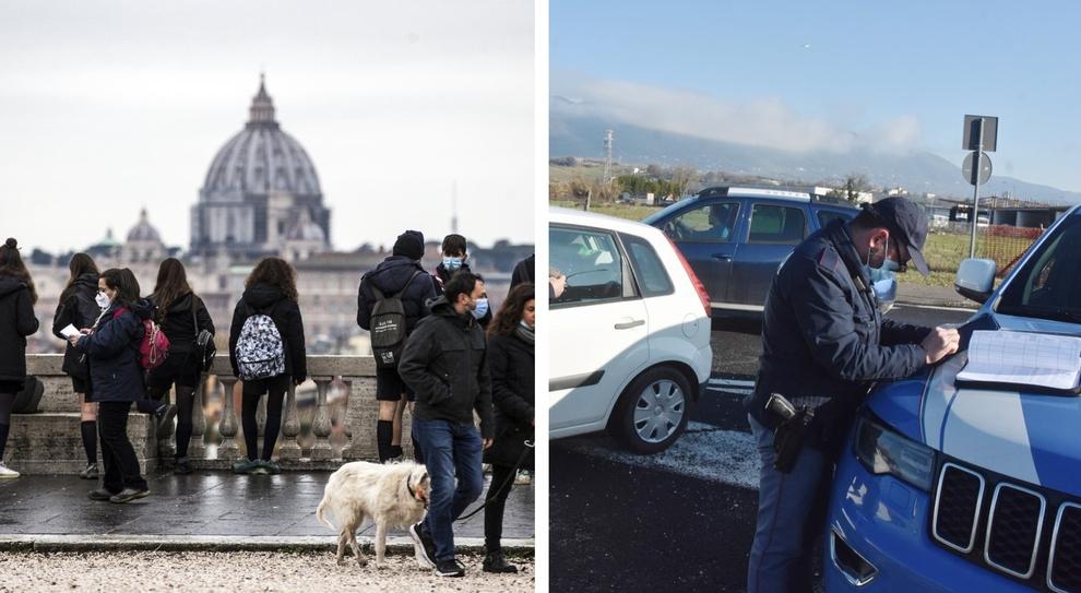 Nuovo dpcm, oggi le decisioni: il Lazio va verso la fascia arancione, ecco chi rischia di cambiare colore