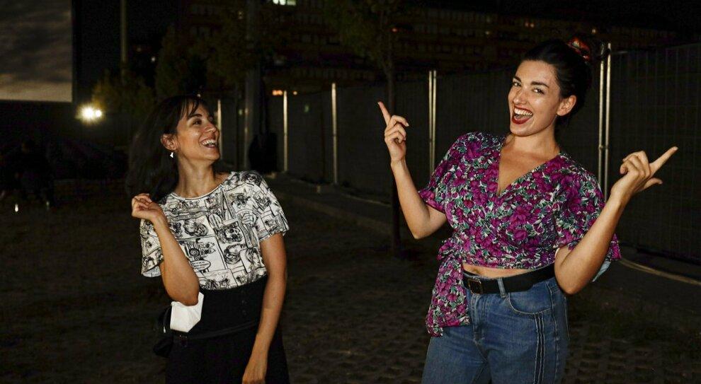Adele Piras e Liliana Fiorelli (Foto: TOIATI/GABRIELLI)