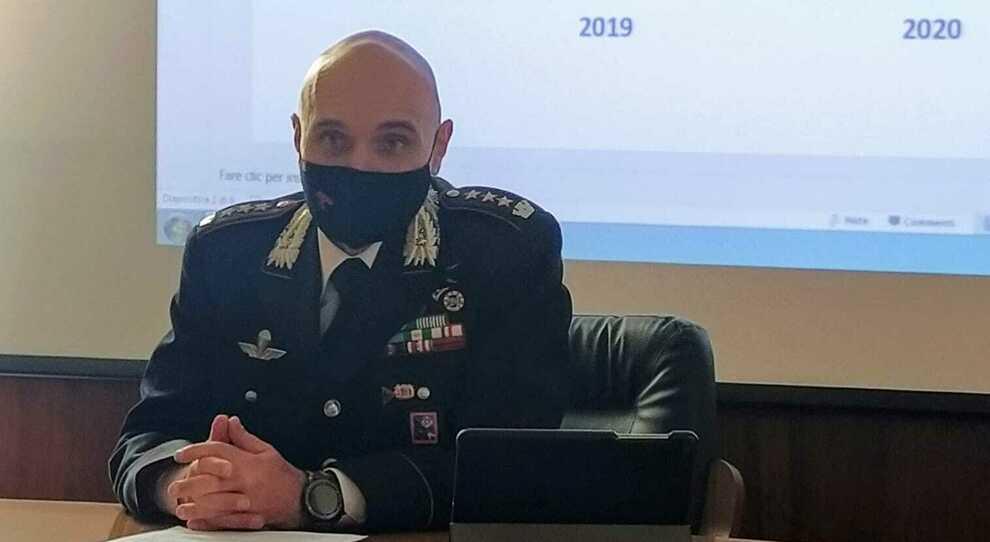 Il comandante Andrea Antonazzo