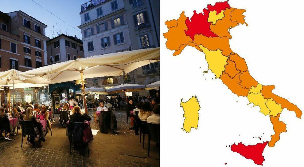 Decreto Draghi, zona rossa e arancione: regole (sino a Pasqua) per seconde case, bar, spostamenti e amici