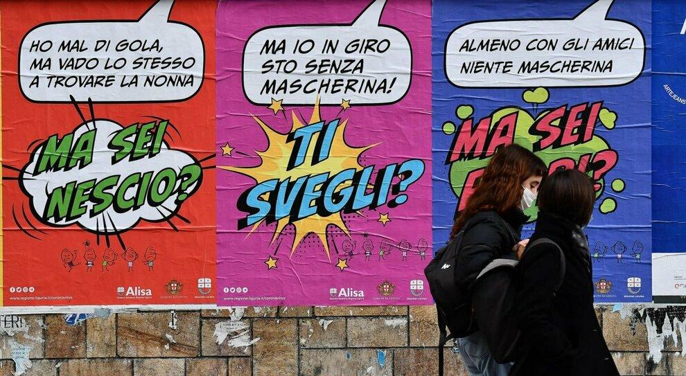 Puglia, Liguria e Basilicata verso il rosso. Veneto a rischio arancione