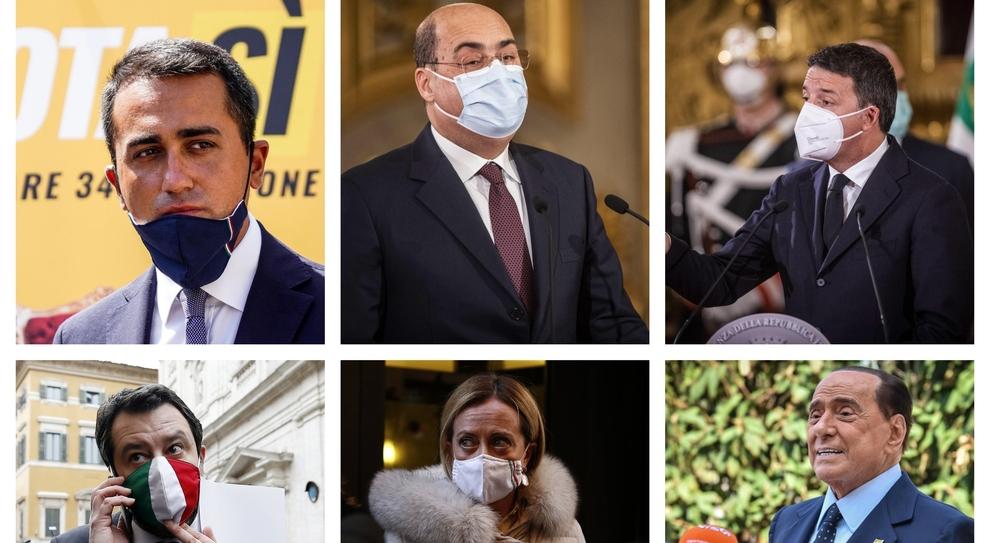 Governo, da Renzi a Berlusconi la partita dei leader tra voglia di elezioni e non-voto
