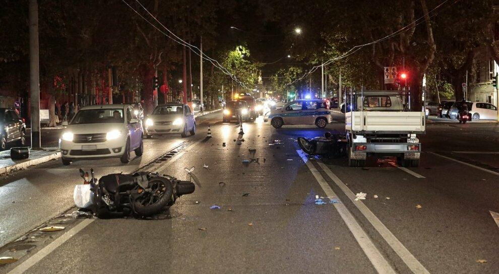 Roma, incidente a Corso Trieste: muore una donna di 38 anni in uno scontro tra moto