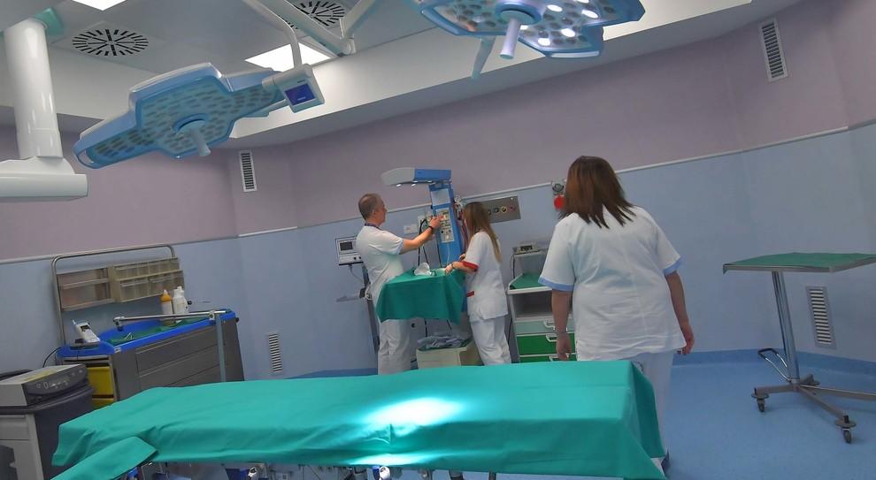 Il reparto di Ginecologia del San Paolo di Civitavecchia (Foto Luciano Giobbi)