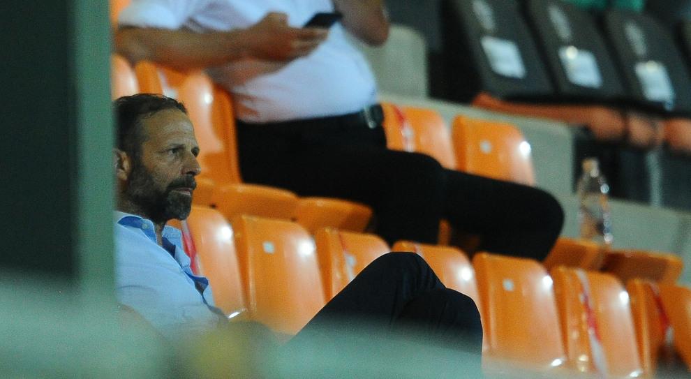Il presidente del Perugia calcio Santopadre