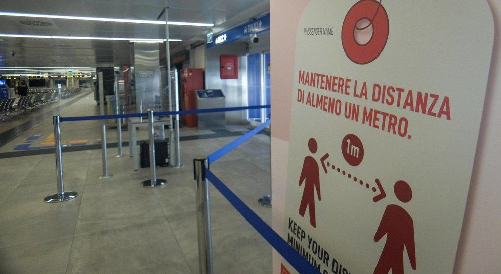 Misure di sicurezza a Milano Linate