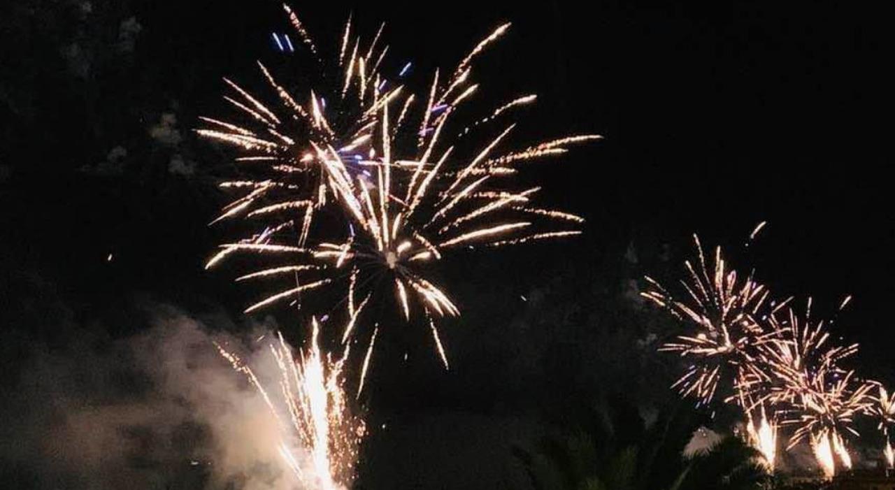 I fuochi d'artificio di Francavilla