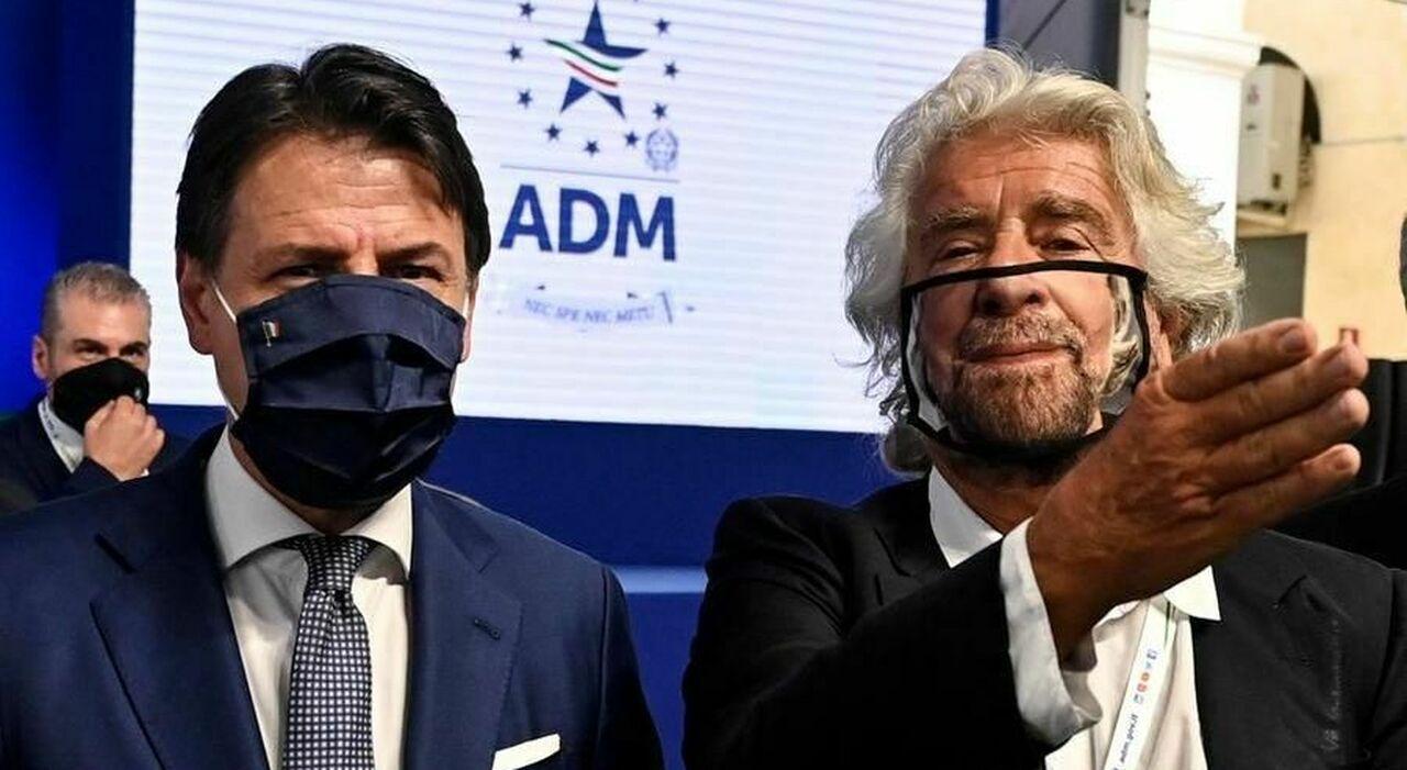 Grillo: «Sono il garante M5S, non un c... Conte? Visioni diverse sul nuovo statuto»