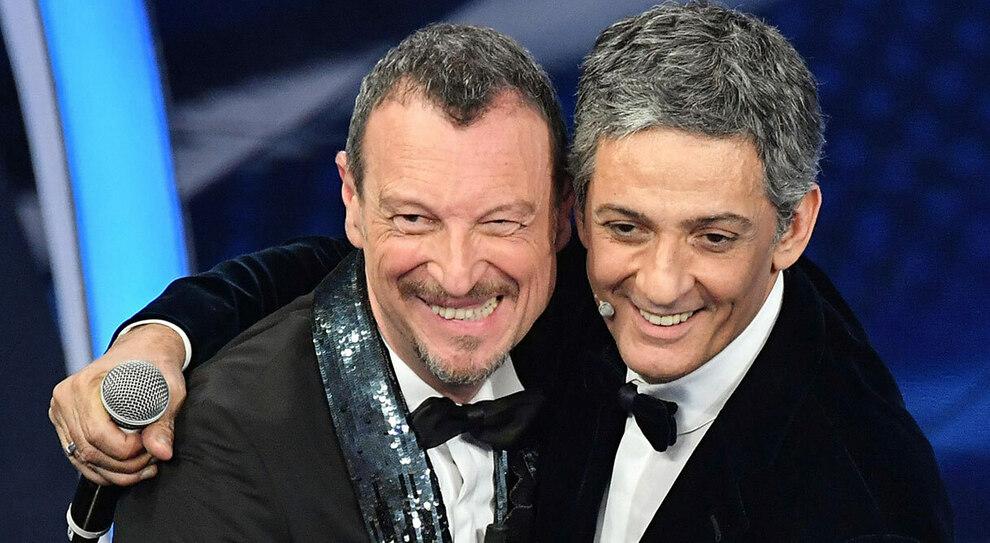 Sanremo 2021, Schwazer, Beppe Signori, Fiorello e Amadeus: quartetto garantista al Festival
