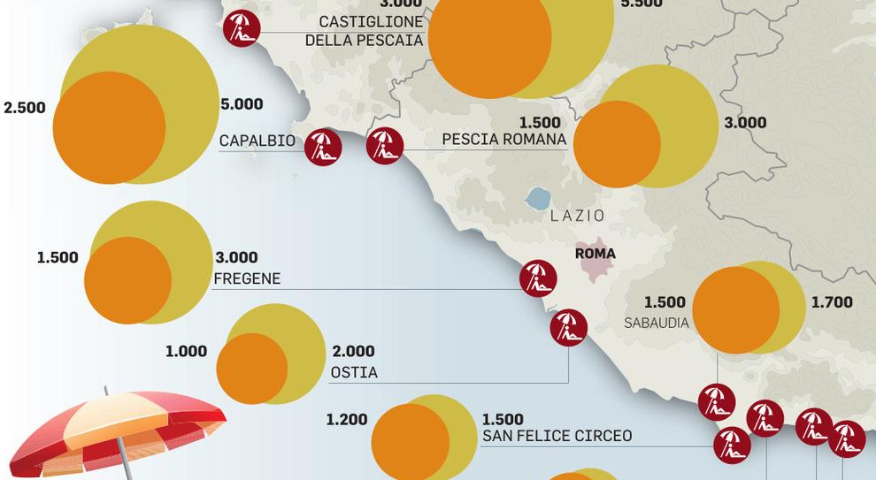 Zona rossa, nel Lazio è corsa alle case-vacanze: e i prezzi raddoppiano