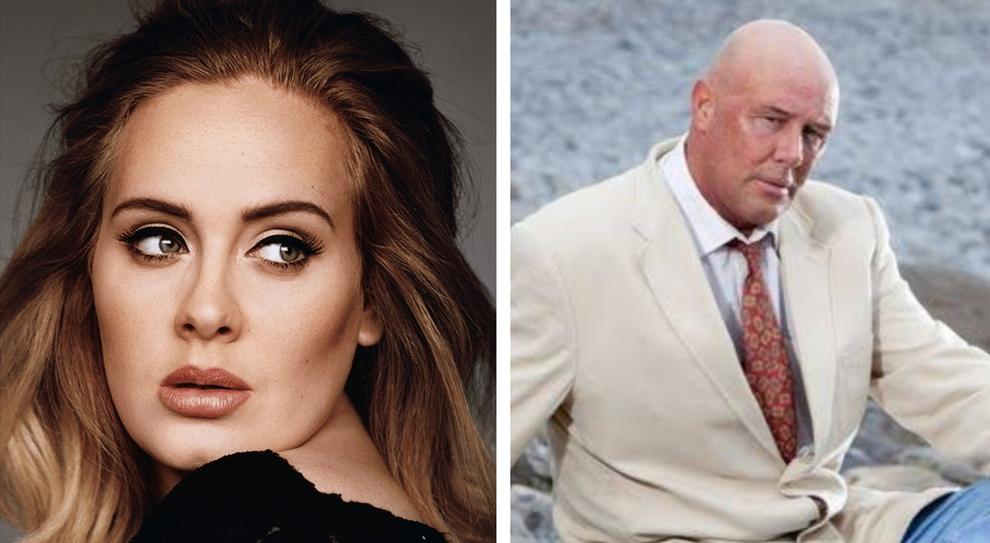 Adele, morto di cancro il padre: aveva 57 anni, ma per anni non si sono parlati