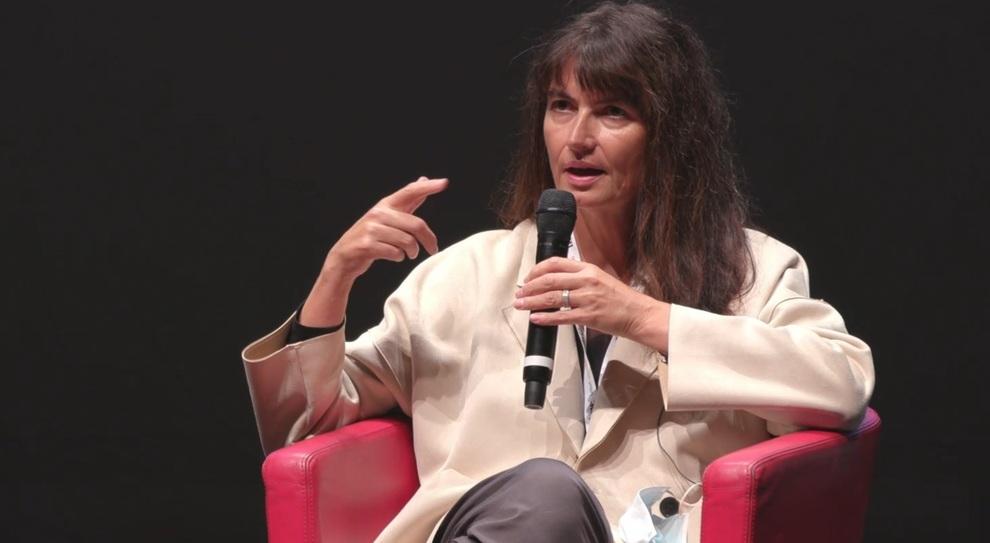 Valérie Perrin sul palco del'Auditorium