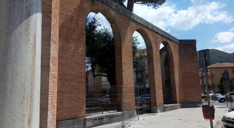 Esedra a Porta Romana