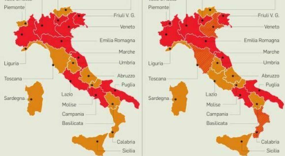 Lazio zona arancione (e rossa da venerdì), cosa cambia? Seconde case, parrucchieri, autodichiarazione, le regole