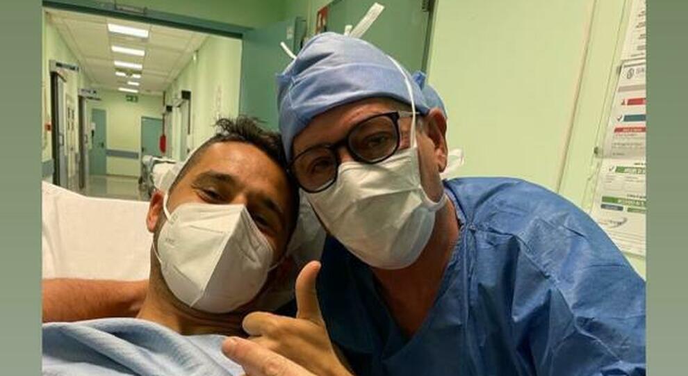 Tucciarone con Tortolano dopo l'intervento