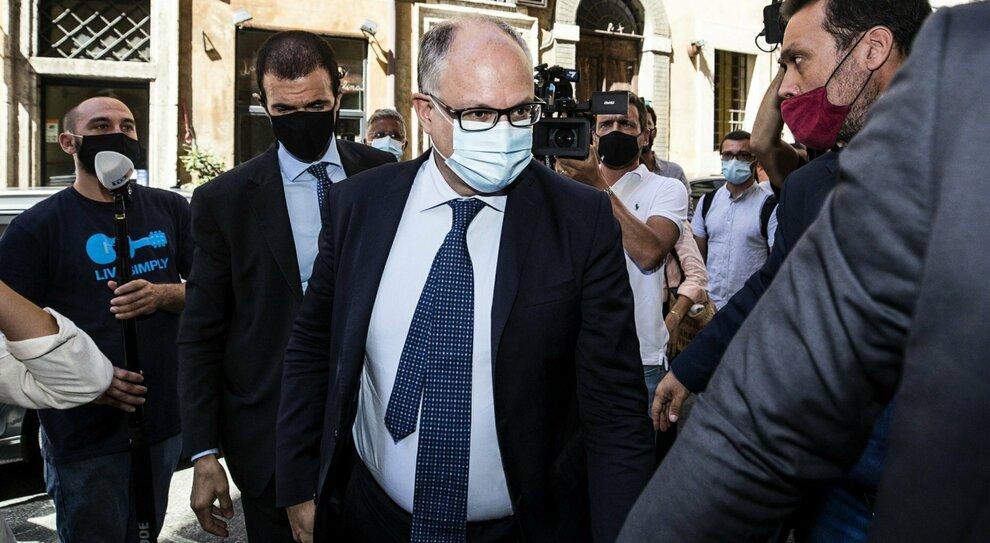 L'ex ministro dell'Economia, Roberto Gualtieri
