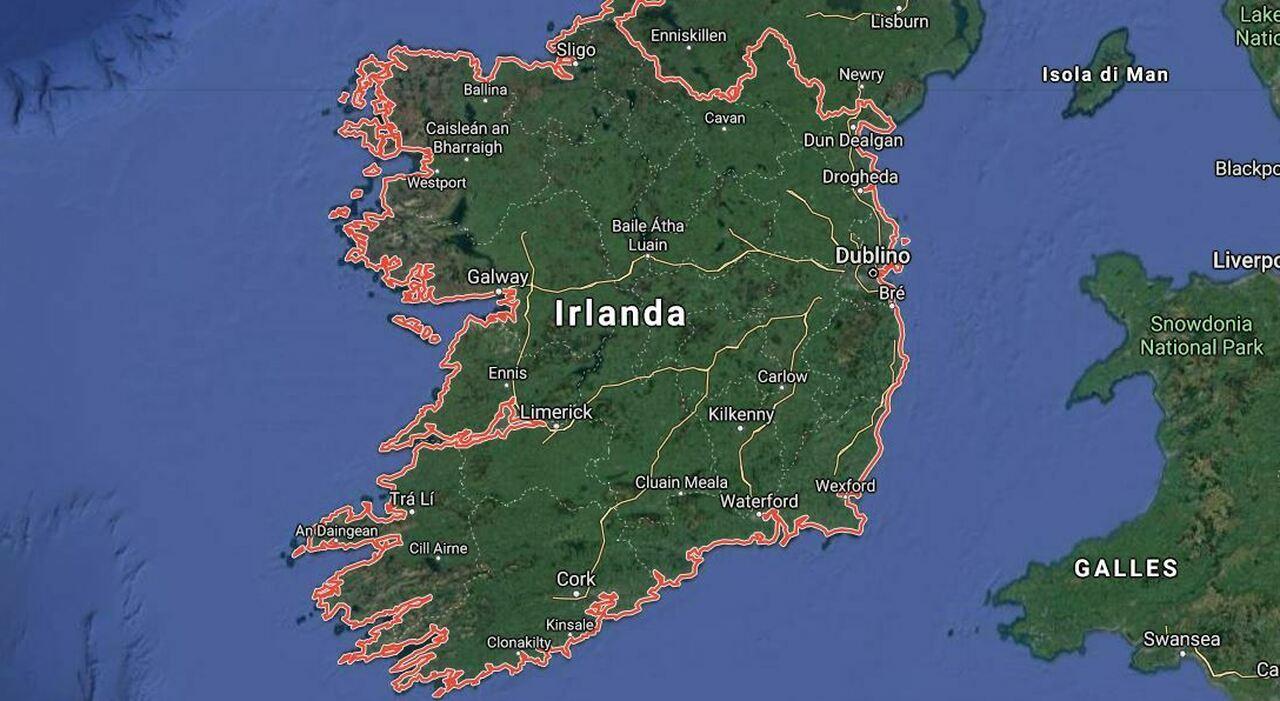 Clima, l'Irlanda può finire sott'acqua? Previsioni choc. «Nel 2050 sommersi km di coste»