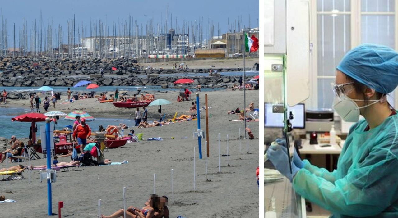 La variante Delta avanza nel Lazio, sul litorale è dominante. Da Ostia a Fregene, cluster tra i giovani