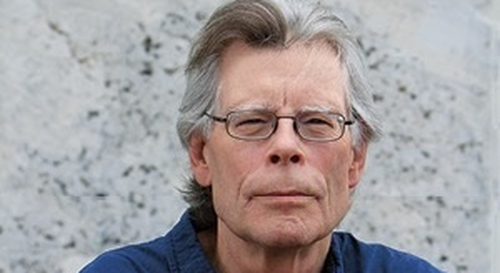 Stephen King ritratto da Shane Leonard
