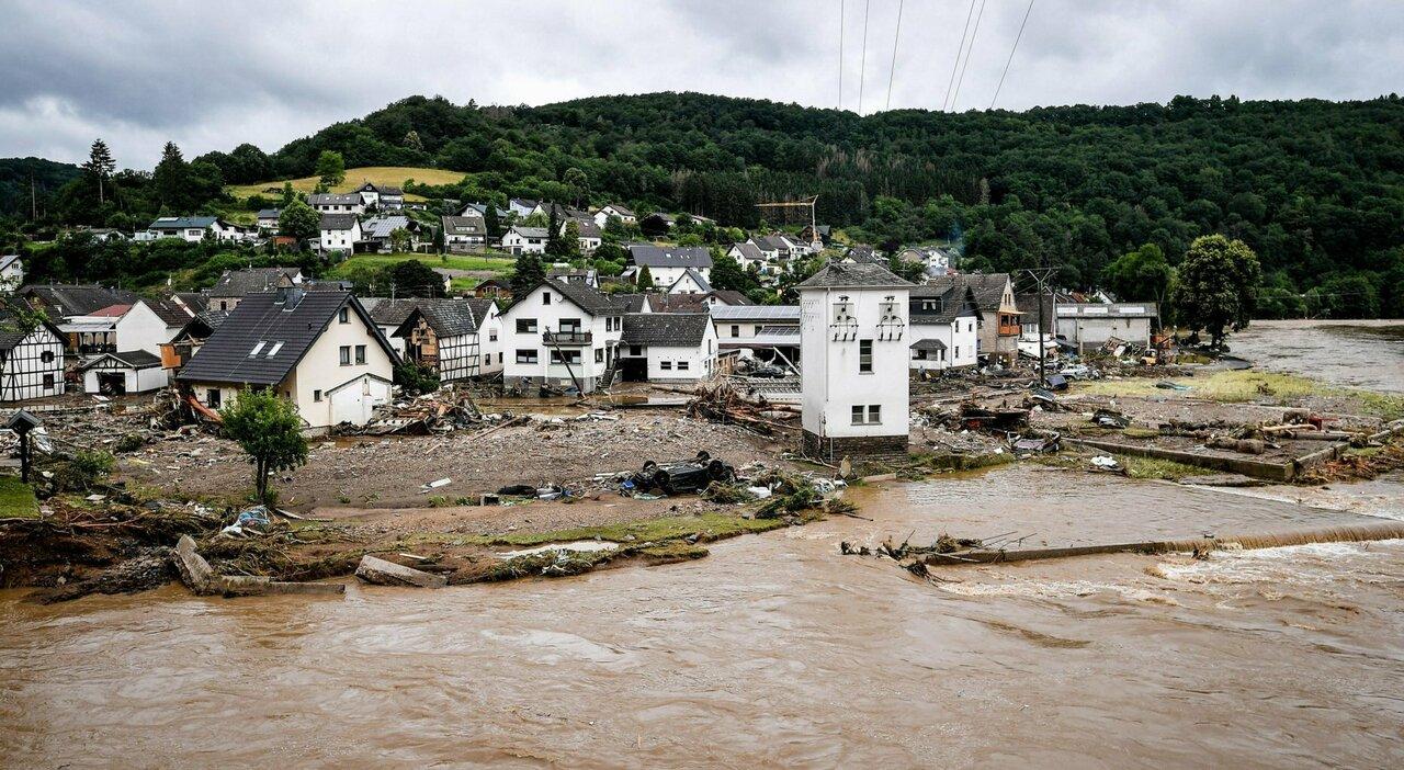 Alluvioni in Germania, l'allarme dell'esperto: «Fenomeni così saranno sempre più frequenti»