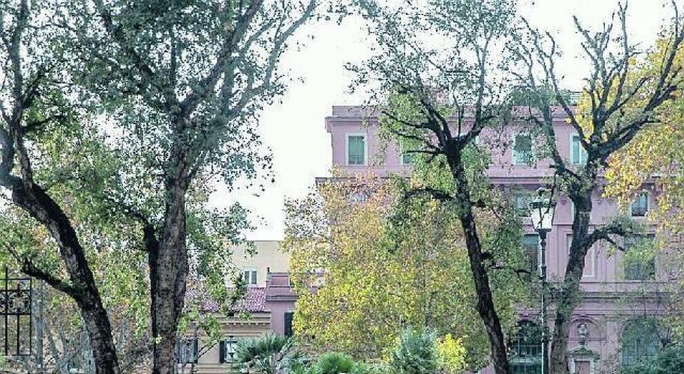 Il giardino di piazza Dante