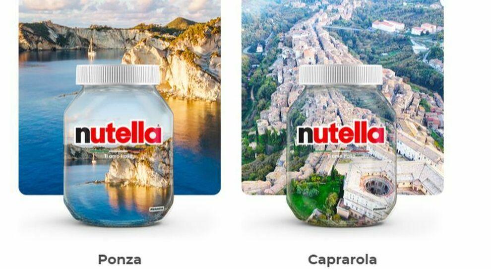 """Nutella """"limited edition"""" con i luoghi meravigliosi d'Italia: il più votato finirà sui vasetti, c'è Caprarola"""