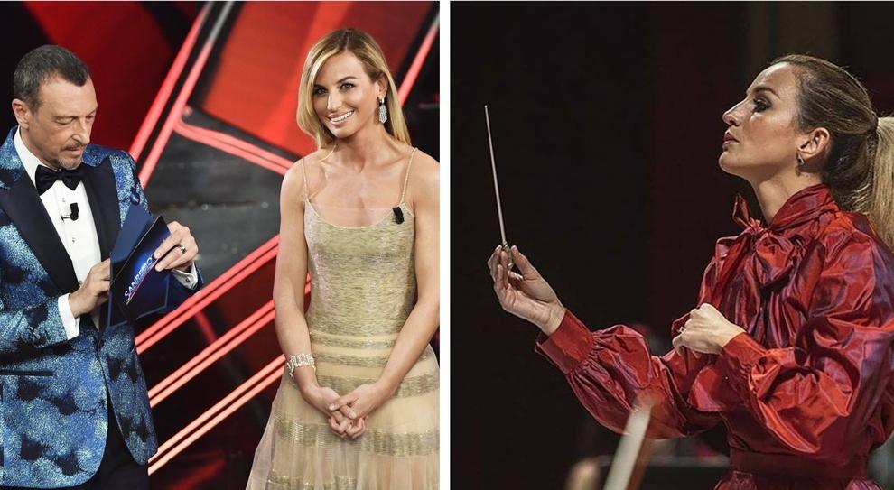 Sanremo 2021, Beatrice Venezi: «Sì, chiamatemi direttore d'orchestra: la parità è un'altra cosa»