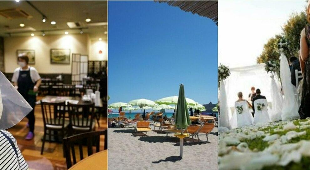 Riaperture bar, ristoranti al chiuso, matrimoni, cinema e piscine: le raccomandazioni del Cts