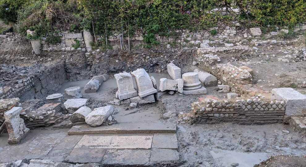 San Casciano, il santuario di Apollo e Iside affiora vicino alle acque calde