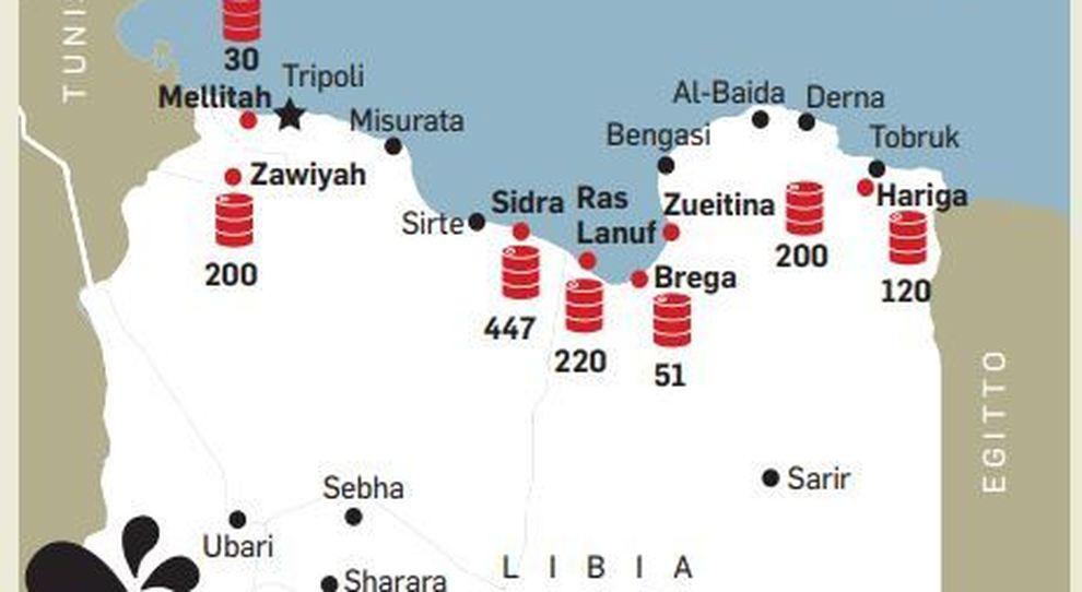 Libia, Haftar non ferma la guerra del petrolio. Bloccata anche l'Eni