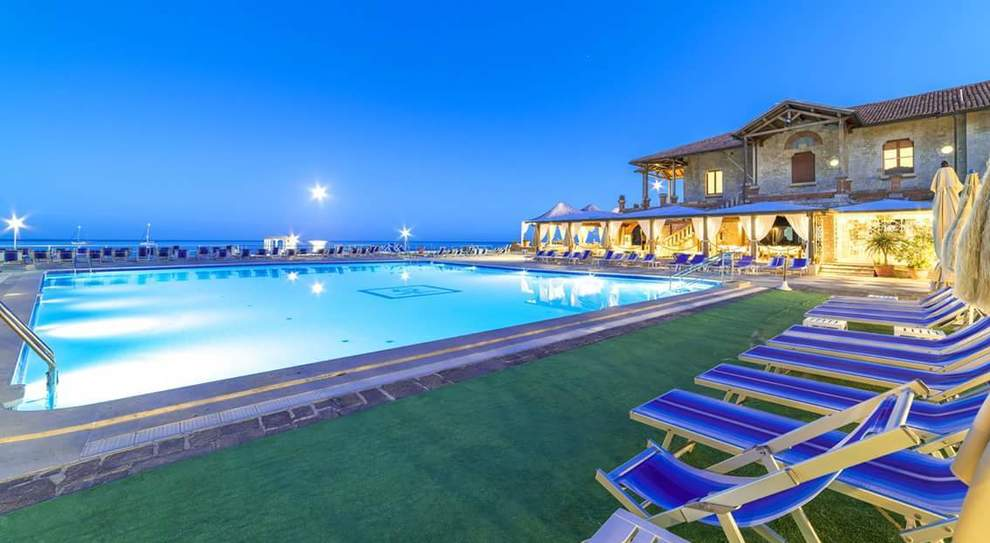 L'hotel Maga Circe a San Felice Circeo