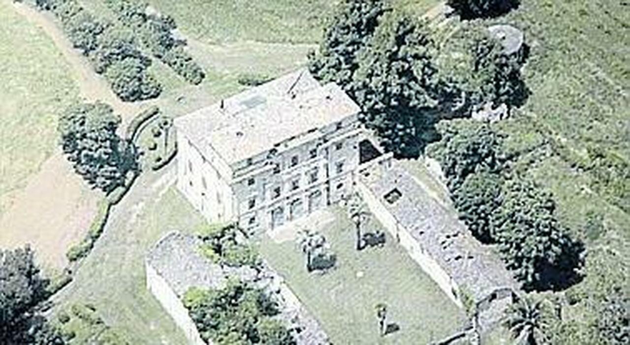 Una parte di Villa Palma a Terni