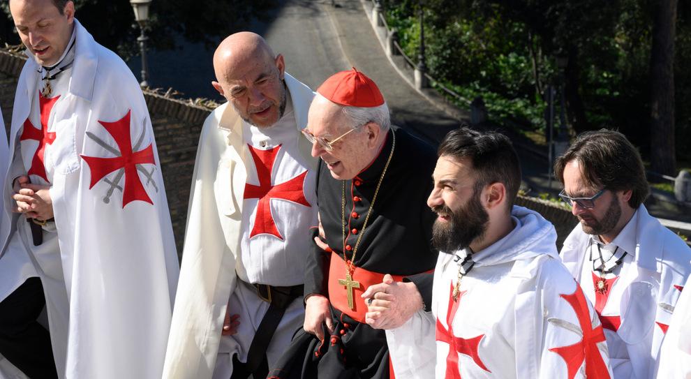 I Templari tornano in Vaticano dopo 700 anni: processione per Roma e una preghiera nella chiesa di Sant'Anna