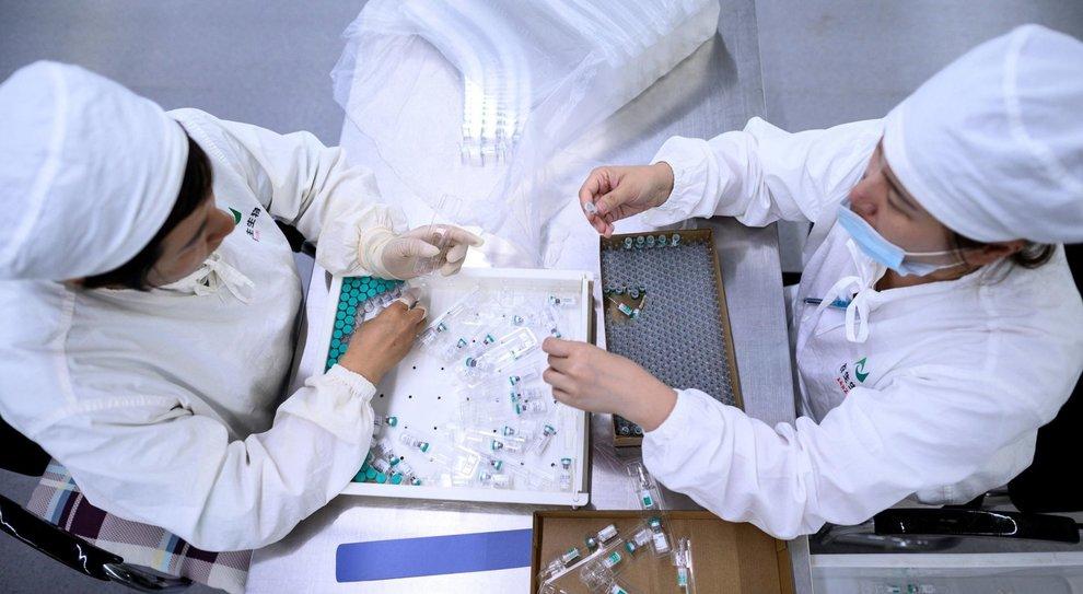 Centro di ricerca anti Covid-19 in Cina