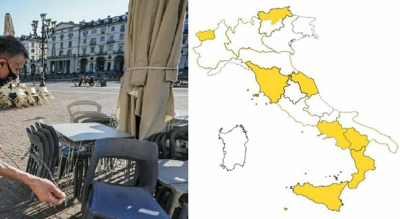 Zona bianca, Lazio, Lombardia, Piemonte, Emilia e Trento da lunedì. Stop coprifuoco, ma la mascherina resta