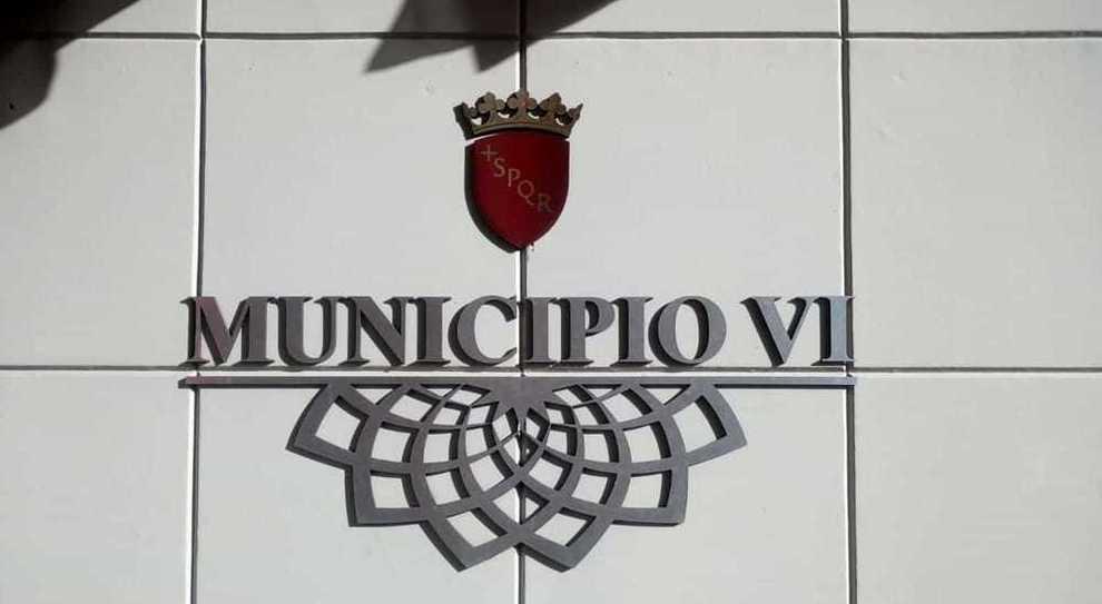 La sede del VI Municipio di Roma, a Tor Bella Monaca