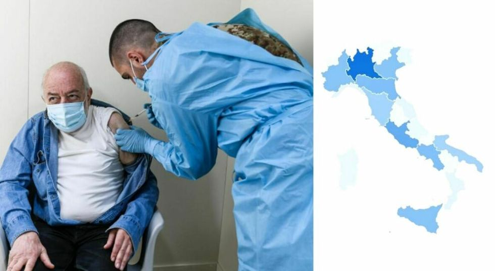 Vaccino, in Italia 8,5 milioni di somministrazioni e 2,7 milioni di immunizzati: Lombardia al primo posto seguita da Lazio ed Emilia Romagna