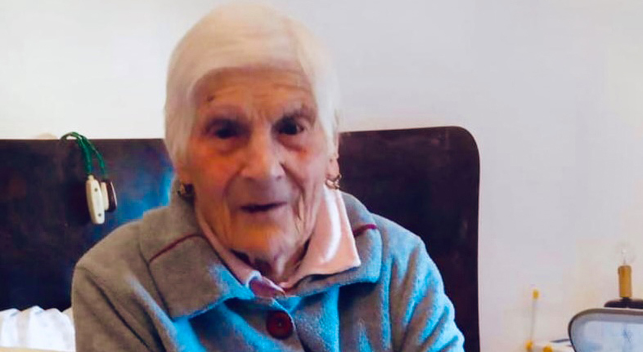 Non è vaccinata, nonna Cannella contagiata dal Covid a 104 anni