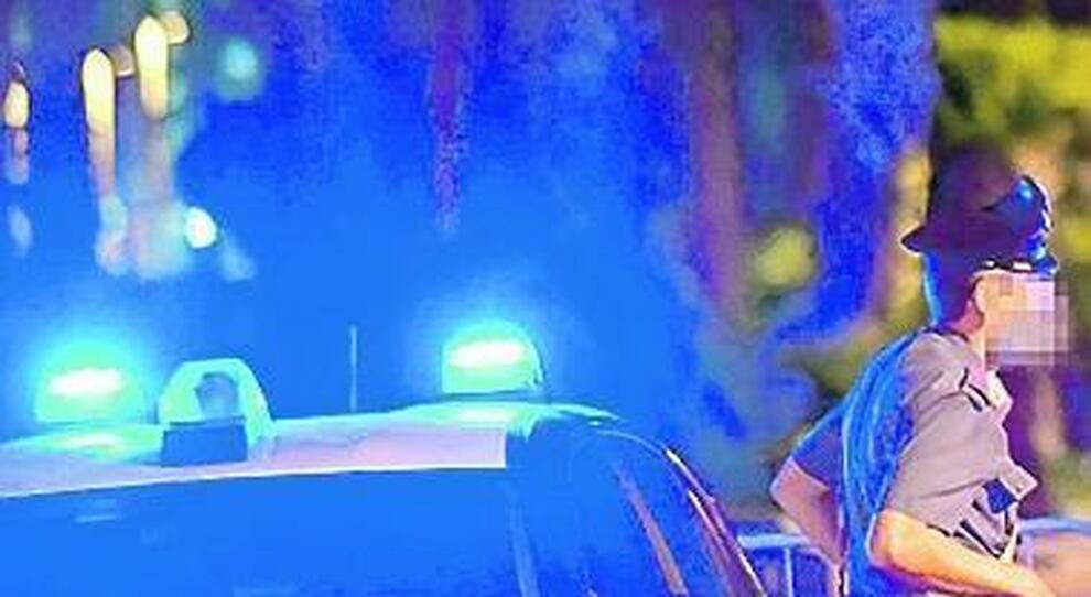 I controlli notturni dei carabinieri
