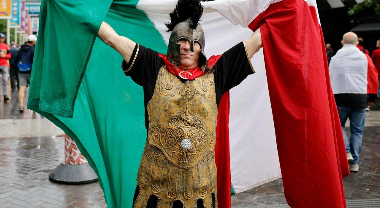 Italia-Spagna, le foto della semifinale dell'Europeo