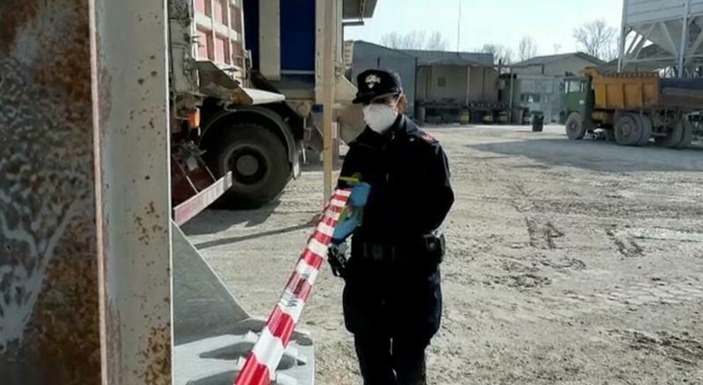 Un sequestro da parte dei carabinieri forestali