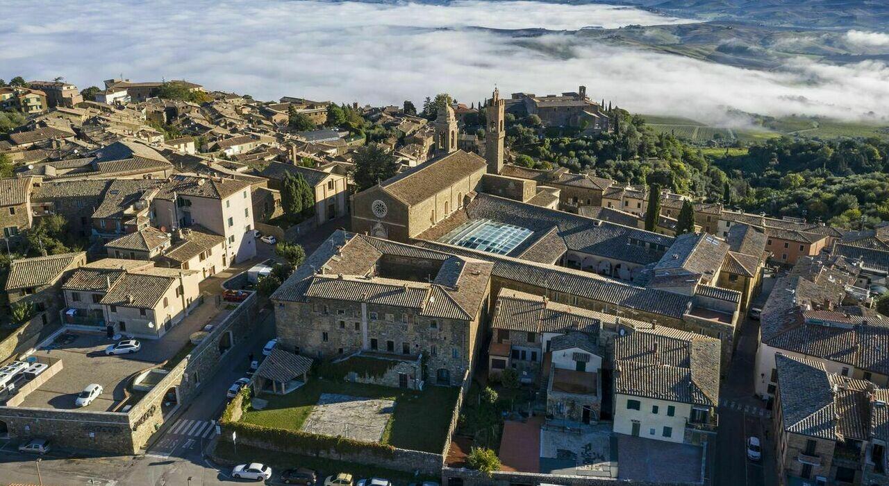 """Montalcino, esaltazione dei sensi nel borgo del """"rosso"""": tra il Tempio del Brunello, arte e biciclette"""