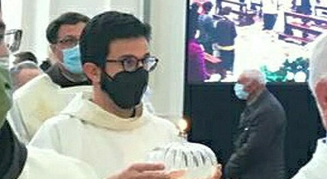 Da Rebibbia all'Aquila: Riccardo Giordanella diventa frate francescano