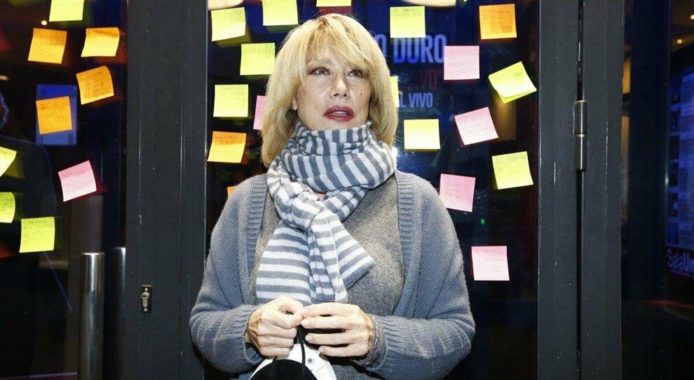 L'attrice Nancy Brilli al Teatro Brancaccio