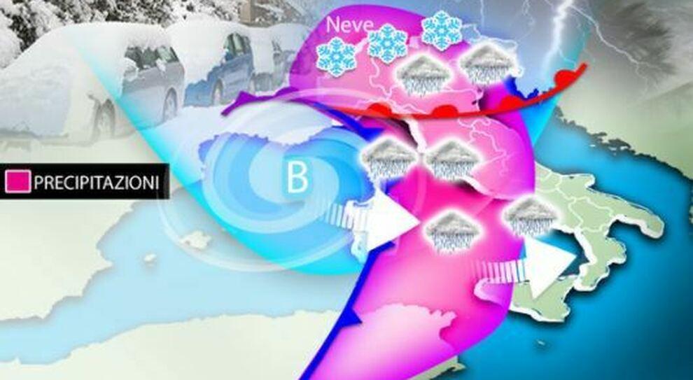 Nevicherà a Roma? Venerdì crollo termico con Burian, ma serviranno 3 condizioni