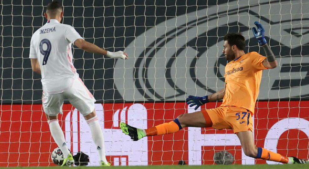 Real Madrid-Atalanta, le pagelle: Benzema non smette di stupire, Sportiello è sciagurato