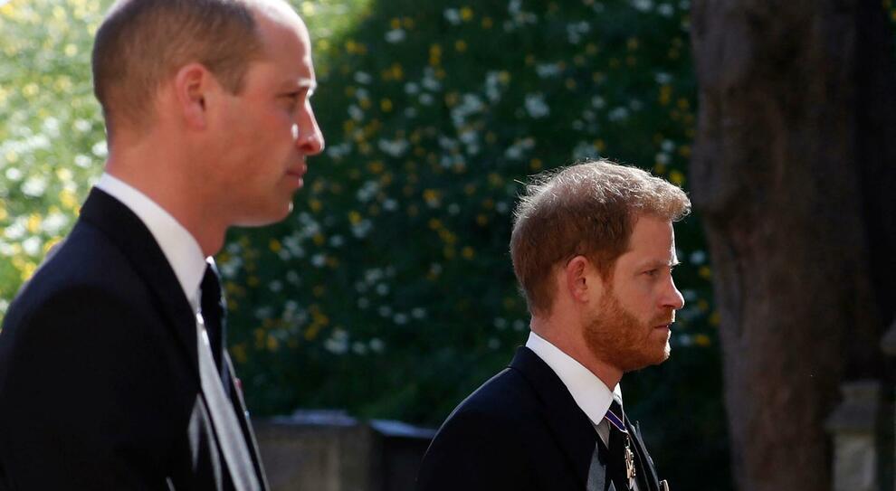 Funerali Principe Flippo, Grazie a Kate (che si fa da parte) William e Harry tornano a parlarsi