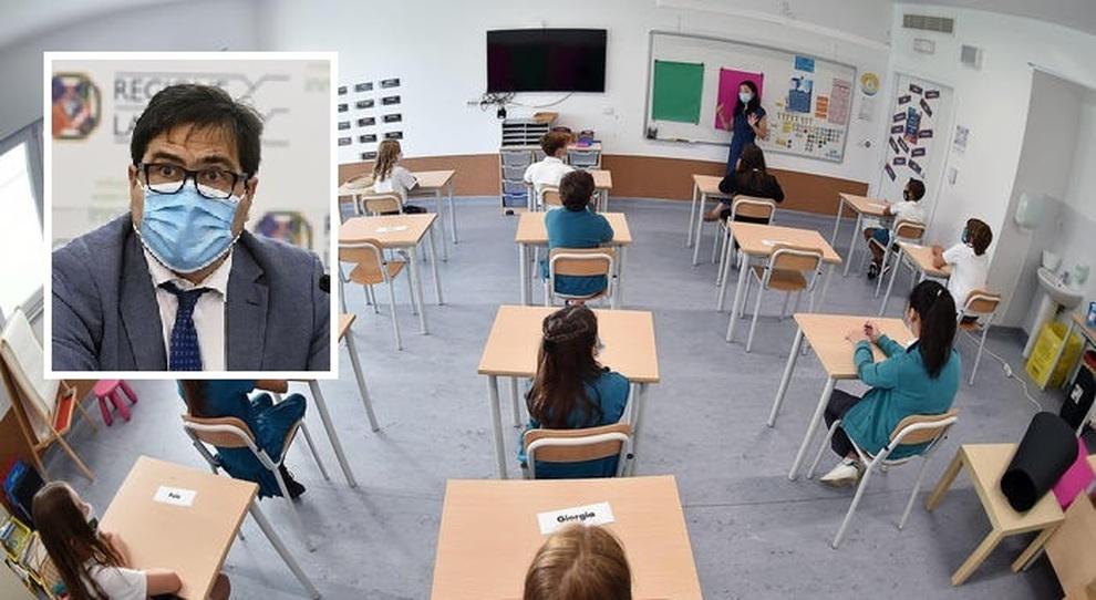 Scuola, Alessio D'Amato: «Il governo non riapra le aule, troppi contagi»