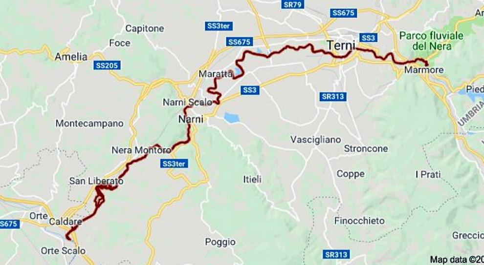 Cartina Puglia Google Maps.Google Maps Bocciato In Geografia Il Fiume Nera Nasce Dalla Cascata Delle Marmore A Terni